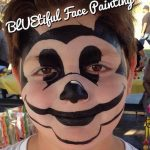 Mickey Style Face Painting